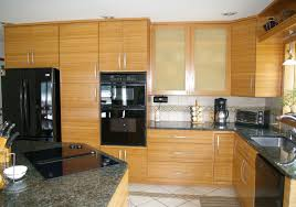 gallery of bamboo kitchen cabinets cute for home design planning