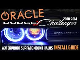 halo light installation near me oracle 08 14 dodge challenger surface mount halo fog light install