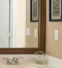 bathroom mirror frame bathroom mirror mirrors waco design