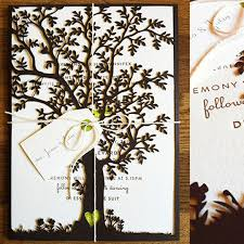 tree wedding invitations laser cut tree wedding invitations laser cut tree wedding