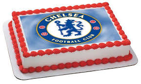 edible cake decorations chelsea football club edible cake and cupcake topper edible