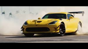 Dodge Viper Yellow - powering the dodge viper acr from pennzoil youtube