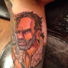 walking dead rick grimes new tattoo mat lapping jpg 960