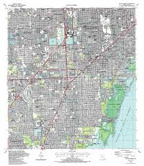 Map State Of Florida by South Miami Topographic Map Fl Usgs Topo Quad 25080f3