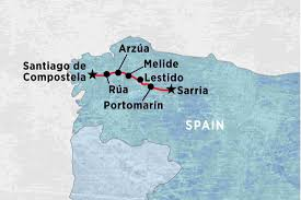 Camino Frances Map A Week On The Camino Self Guided Spain Tours Peregrine
