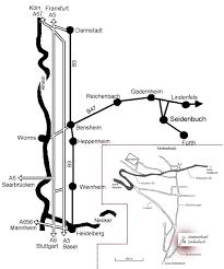 B47 Bus Route Map Seminarhotel Seidenbuch Im Odenwald Anfahrt