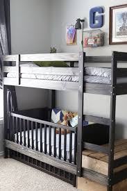 Crib Loft Bed A Crib For The Bottom Bed On The Ikea Mydal Bunk Bed Best