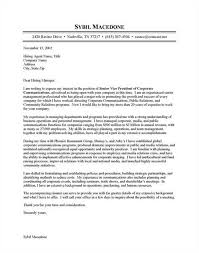letter for communications specialist