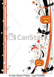 vector of vector halloween frame csp7123688 search clip art