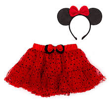 minnie mouse tutu and accessory set for kids
