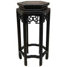 Plant Pedestal Oriental Furniture Asian Furniture And Decor 20 Inch Qing Chinese
