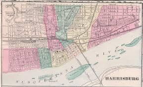 Pennsylvania Cities Map by Harrisburg And The 1900 Census U2013 Digital Harrisburg