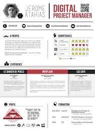 digital resume template best 25 project manager resume ideas on