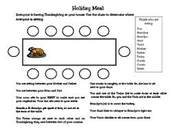 problem solving thanksgiving dinner by tpt