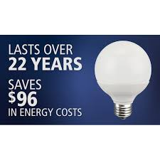 Type G Led Light Bulb by Great Value Led 8w Daylight Globe Light Bulb Walmart Com