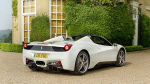 Ferrari 458 Black And White - white is the most popular car color again