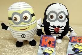 minion halloween basket despicable me halloween plush cool stuff to buy and collect