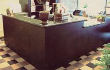 Granite Reception Desk Custom Cabinetry Millwork And Furniture Fabrication For