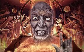Occult Home Decor Occult Satan Anti Evil 4 Sizes Home Decor Canvas