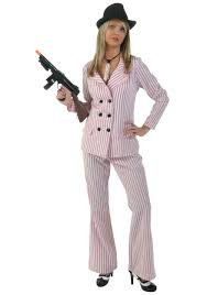 Scarface Halloween Costume Pink Women U0027s Gangster Costume