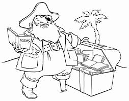 pirate coloring pages pirate treasure 12228 bestofcoloring