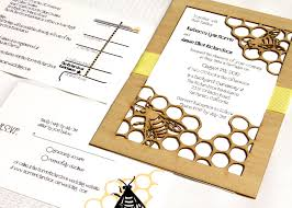 wedding invitations with response cards beeeeeeeeez honey bee garden wedding invitation and response
