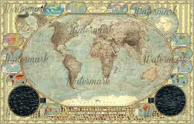 The World Political Map by Political Map Of The World Imperial Decorative By Jaysimons On
