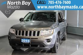 jeep compass 2017 grey pre owned 2013 jeep compass 4x4 cloth interior bluetooth sport