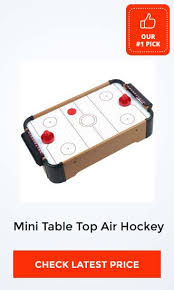 Air Hockey Table Dimensions by Best Mini Air Hockey Tables U2013 Guide And Reviews