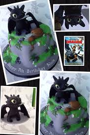 how to train your dragon toothless birthday cake toothless