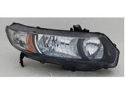 honda civic headlight honda civic coupe 2006 2008 right passenger side replacement