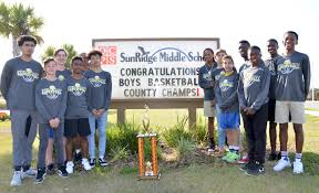 sunridge soars to county championship in middle boys
