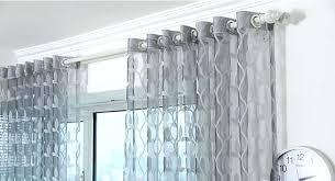 Light Grey Sheer Curtains Yellow And Grey Sheer Curtains Muarju Me