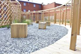 garden fence with bars wooden g1513 street design