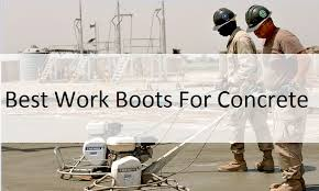 Most Comfortable Work Shoes For Standing On Concrete The 6 Best Work Boots For Concrete That You Will Love