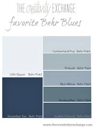 behr makes some of the best blue paint colors out there see these