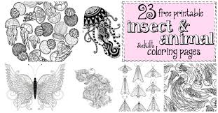 23 free printable insect u0026 animal coloring pages 19