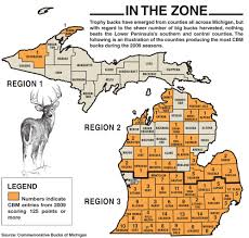 Iron Mountain Michigan Map by 2011 Michigan Deer Forecast Game U0026 Fish