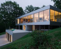 all home design inc panoramic views surround this cantilevered house from all four sides