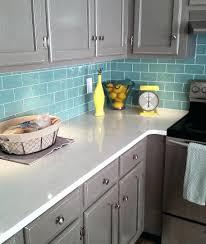 sea glass tile backsplash ideas kitchen unusual sea glass tile