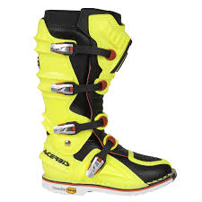 hinged motocross boots acerbis mx boots x move 2 0 fluo yellow black 2017 maciag offroad