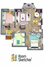 floor plan designer aerial view of the 3d floor plan for our showroom house