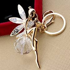 crystal key rings images Sweet home crystal ball keyrings automotive keychains angel with jpg