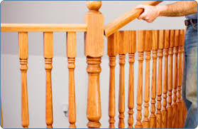 Replacing A Banister And Spindles Replacing Spindles How To Replace Banister Newel Post Handrail And