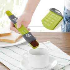 an adjustable scale measuring spoon for the modern kitchen u2013 quick