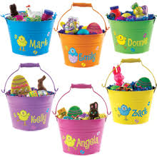 easter buckets easter baskets coquette maman