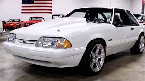 1991 lx 5 0 mustang 1991 ford mustang white