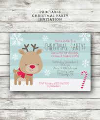 kids christmas party invitation christmas party invite