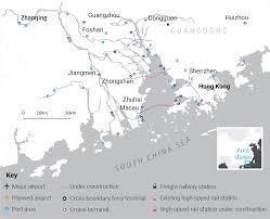 Bay Area Map China U0027s U0027greater Bay Area U0027 Integration Scheme South China