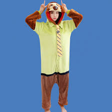 Flash Halloween Costumes Cute Sloth Onesies Adults Flash Halloween Costume Animal